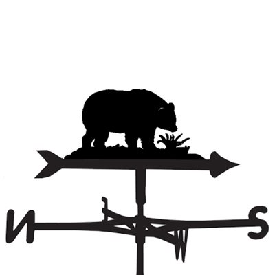 WEATHERVANE in Wild Bear Design