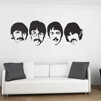 WALL STICKER in The Beatles design