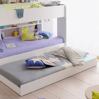 BIBOP TRUNDLE DRAWER in White