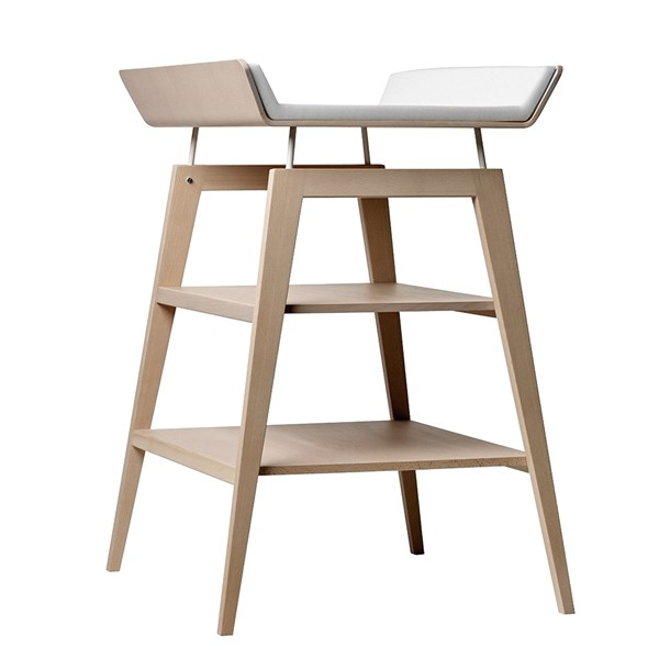 Contemporary Baby Changing Unit in Beech