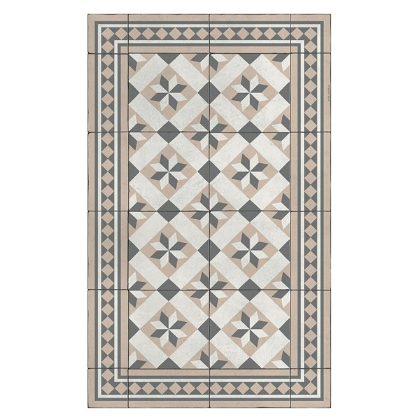 Beija Flor Authentic Gothic Floor Mat