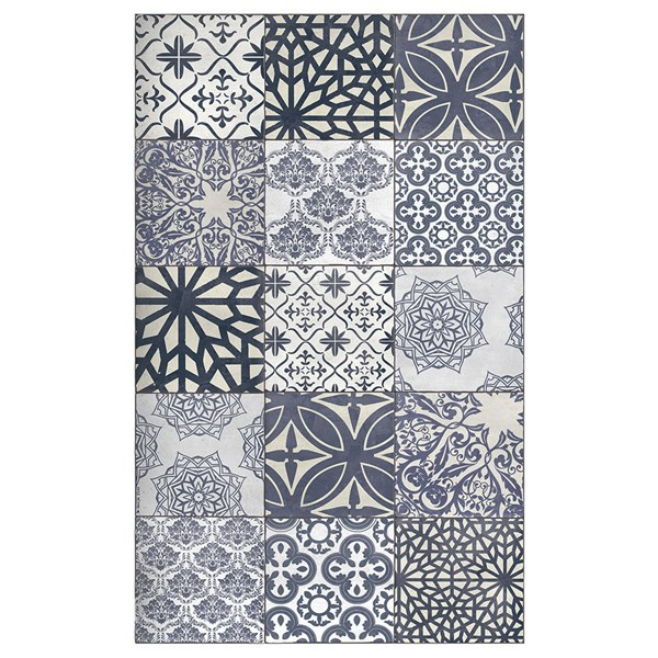 Beija Flor Authentic Eclectic Lace Floor Mat