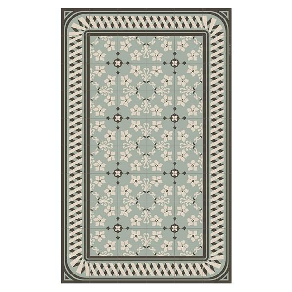 Beija Flor Modern Almond Floor Mat