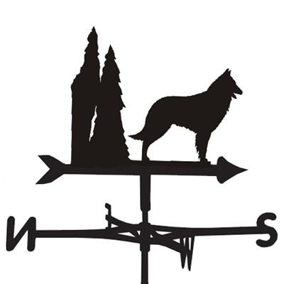 WEATHERVANE in Belgian Groenendael Dog Design