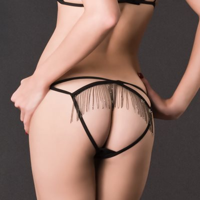 MAISON CLOSE Belle de Nuit Naked Panty