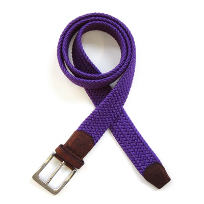 KNITTED BELT in Purple