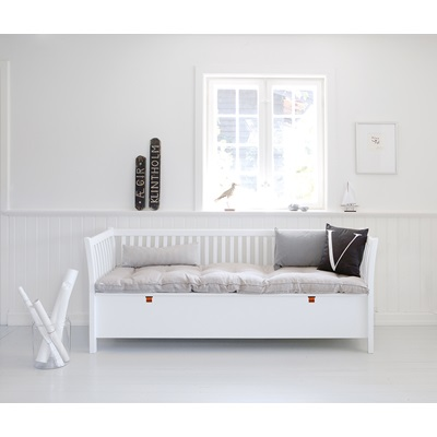 LARGE BENCH in Seaside White
