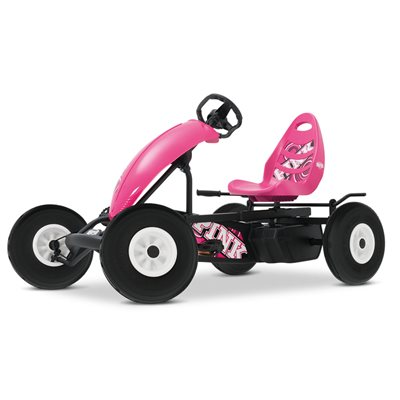 BERG COMPACT PINK PEDAL GO-KART