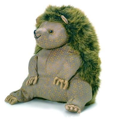 BERTIE BRISTLES Hedgehog Animal Doorstop by Dora Designs