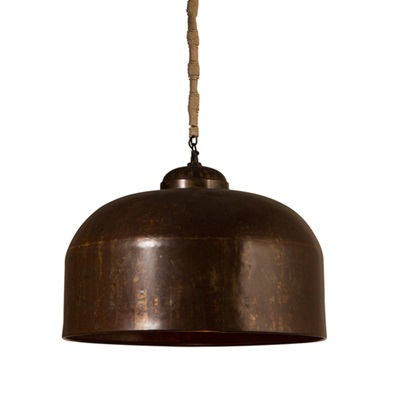 BESAR INDUSTRIAL CEILING LIGHT in Lacquer Finish