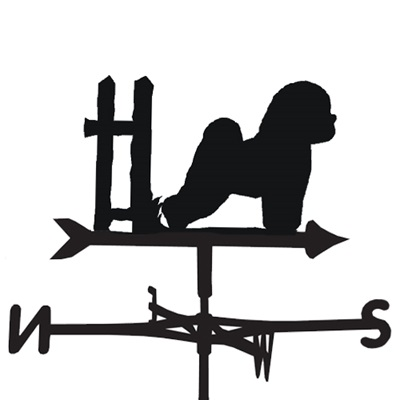 Weathervane in Bichon Frise Dog Design