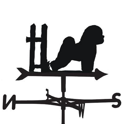 WEATHERVANE in Bichon Frise Dog Design