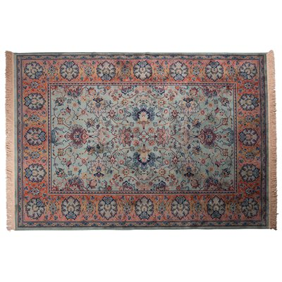 DUTCHBONE BID ANTIQUE STYLE PERSIAN RUG in Old Green