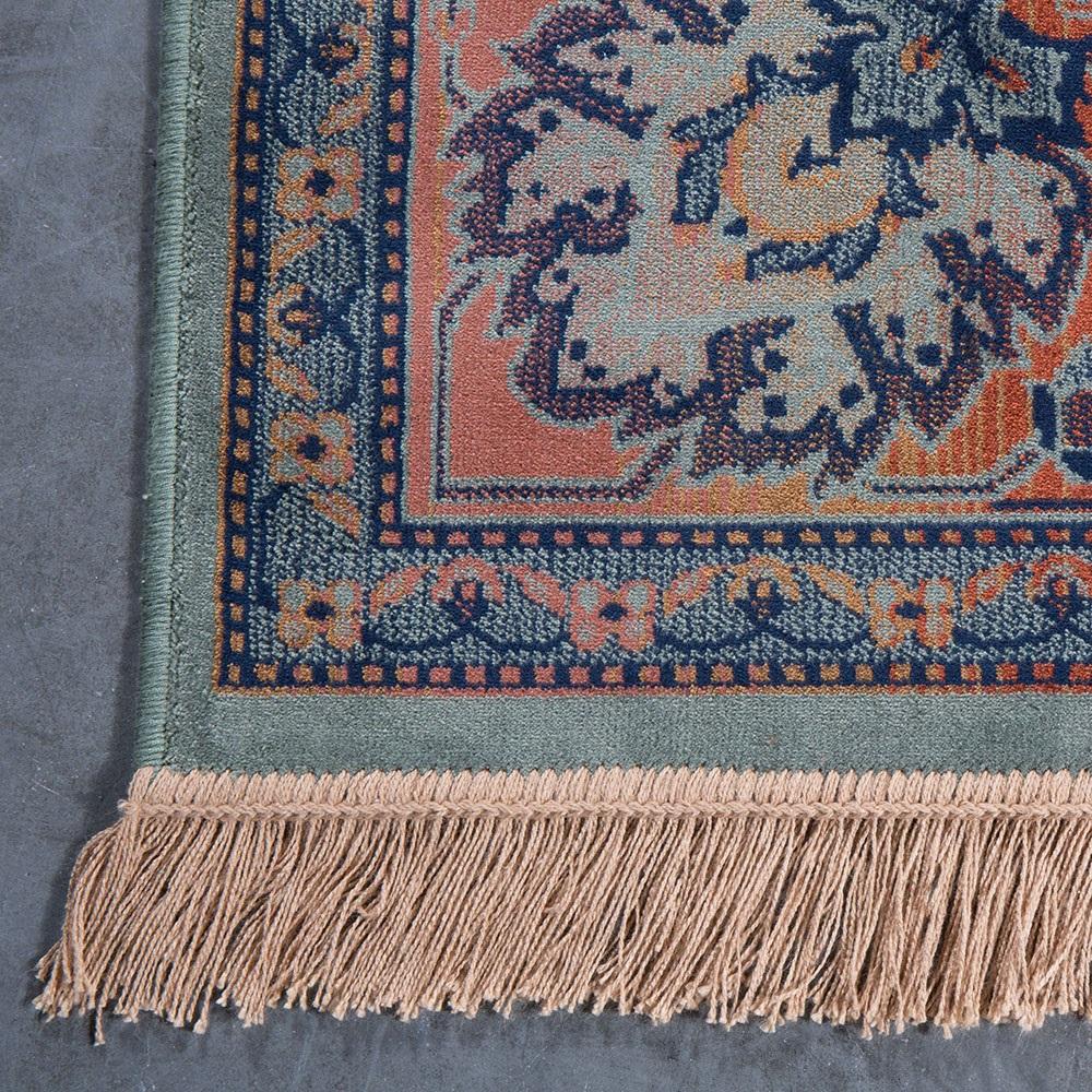 Dutchbone Bid Antique Style Persian Rug In Old Green