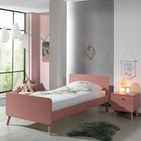 Cuckooland Billy Single Kids Bed - Terra Pink
