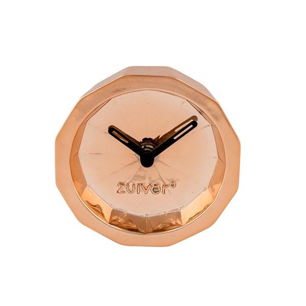 Zuiver Bink Time Desk Clock in Copper