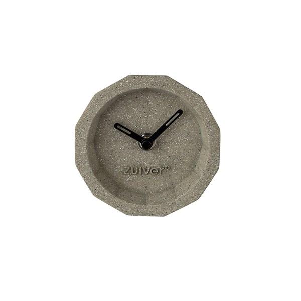 Zuiver Bink Time Desk Clock in Concrete Finish