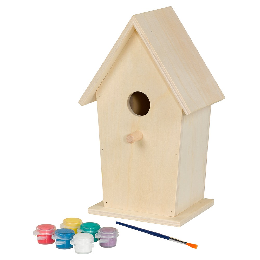 Kids Make Your Own Birdhouse Unique Kids Gifts Cuckooland