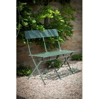FOLDING BISTRO BENCH in Thyme