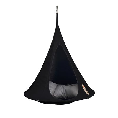 BONSAI CACOON KIDS HANGING CHAIR in Black