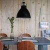 Larg Black Dining Lampshades