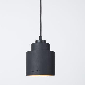 Unique ceiling lights lighting cuckooland zuiver left concrete pendant light in black aloadofball Choice Image