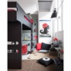 Black and Red Kids Room