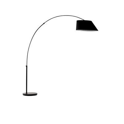 ZUIVER ARC STUDY FLOOR LAMP in Black