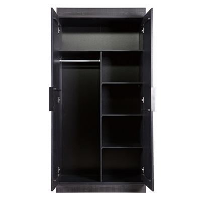 2 Door Cupboard Inside Designs Connect 2 Door Cabinet In Black Herringbone Design  Occasional Chairs