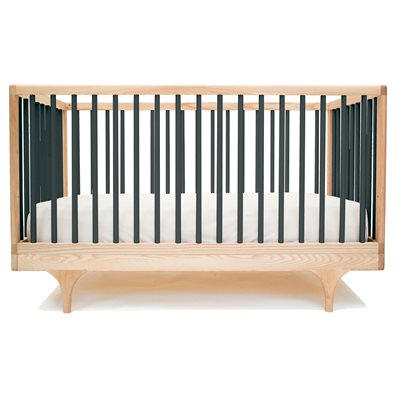 KALON STUDIOS CARAVAN COT & TODDLER BED in Black