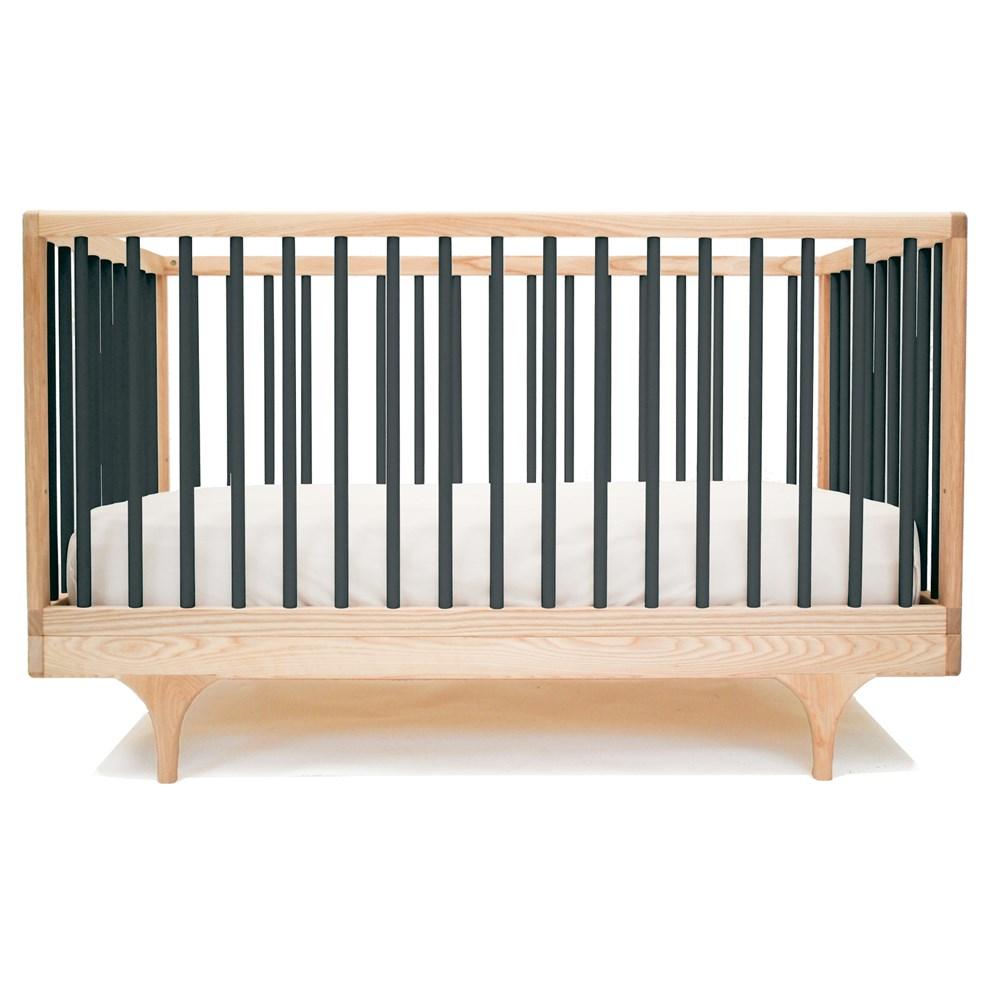 cheap for discount bac6d 4e758 Kalon Studios Caravan Cot & Toddler Bed in Black