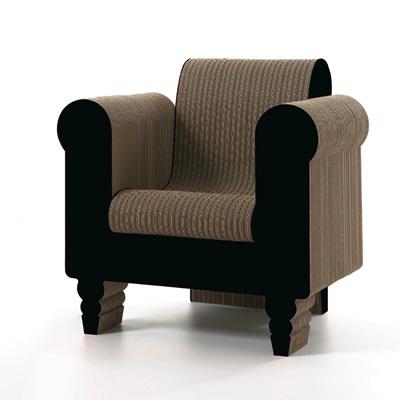 CLORINDA Cardboard Armchair