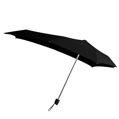 SENZ SMART S WINDPROOF UMBRELLA in Black