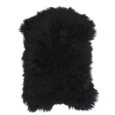 ICELANDIC SHEEPSKIN RUG in Black