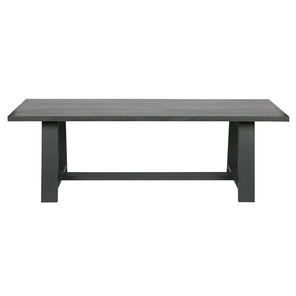 A Frame Dining Table in Black