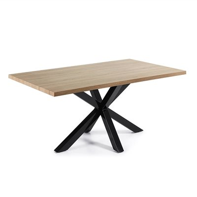 ARYA MODERN DINING TABLE in Black