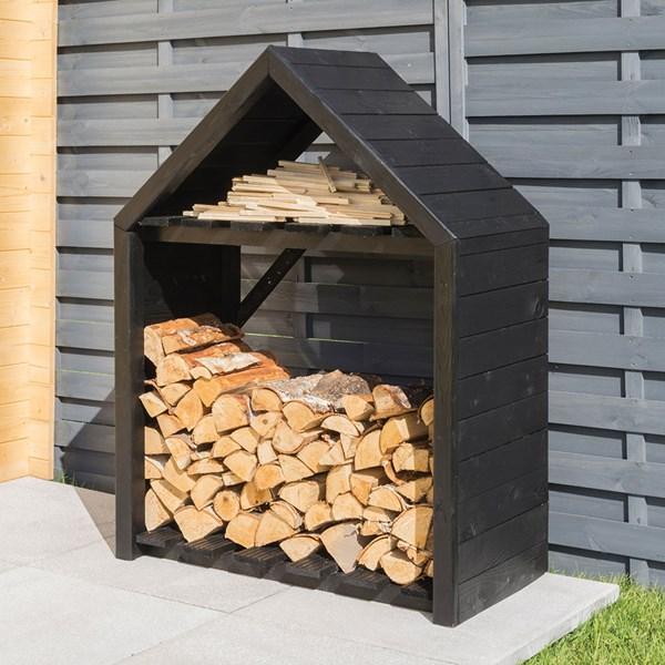 Rowlinson Black Apex Log Store