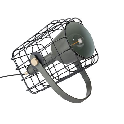 Image of Cage Table Lamp in Black