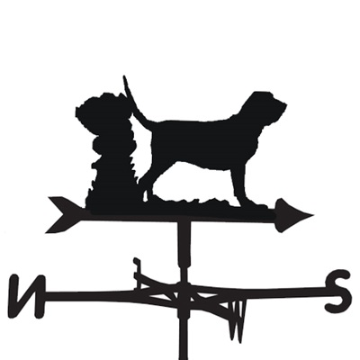 WEATHERVANE in Bloodhound Dog Design
