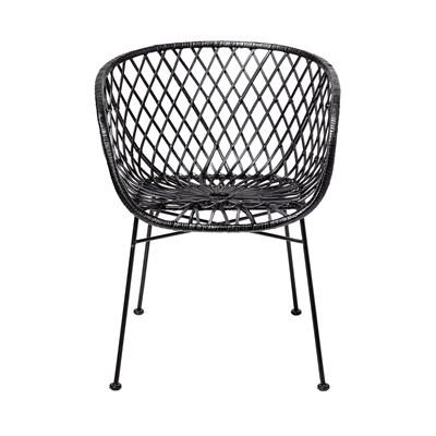 Astonishing Bloomingville Rattan Lena Dining Chair Ncnpc Chair Design For Home Ncnpcorg
