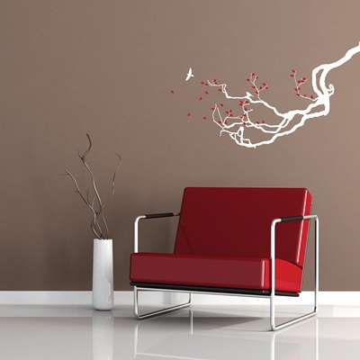 WALL STICKER in 'Blossom Tree' design