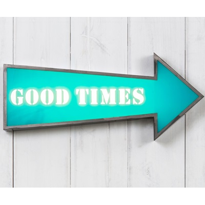 LIGHT BOX in Good Times Design