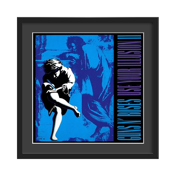 Guns N' Roses Vol 2 Album Art Wall Print