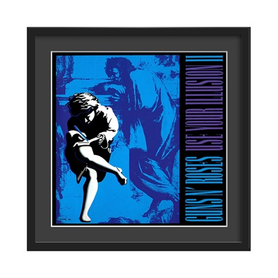 GUNS N' ROSES FRAMED ALBUM WALL ART in Use Your Illusion Vol 2