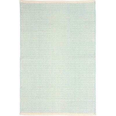 INDOOR HERRINGBONE RUG in Sky Blue