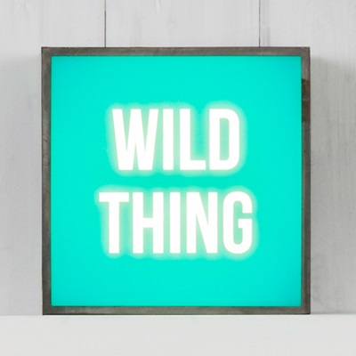 LIGHT BOX in Wild Thing Design