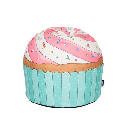 CUPCAKE BLUE BEAN BAG by Woouf