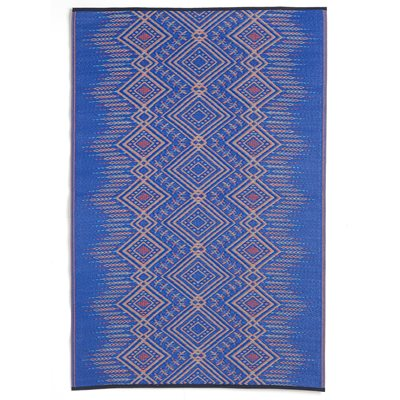 FAB HAB JODHPUR OUTDOOR RUG in Blue