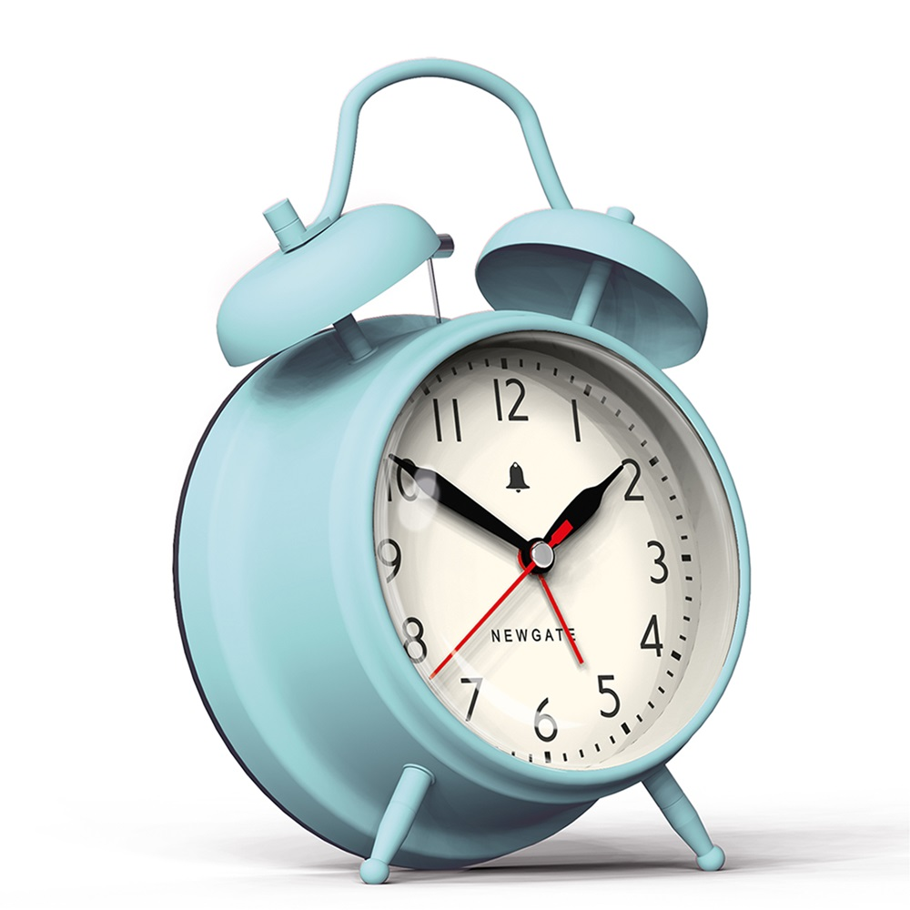 Newgate covent garden alarm clock in blue gifts for children cuckooland - Funky cuckoo clock ...