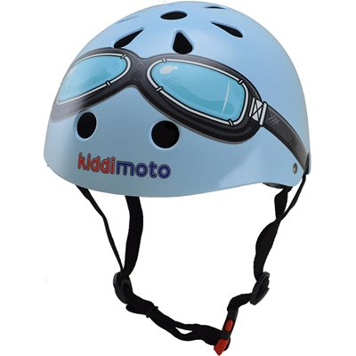 BLUE GOGGLE HELMET by Kiddimoto